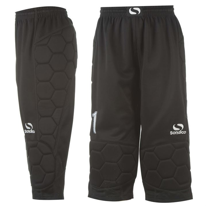Sondico-Mens-Gents-Goalkeeper-Three-Quarter-Padded-Pants