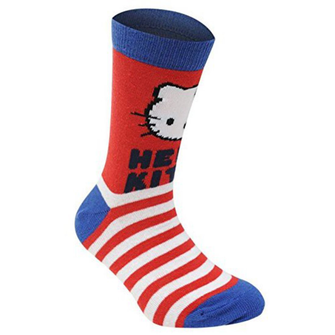 Hello Kitty Pattern Design Kids Children Junior Girls Everyday Casual Socks