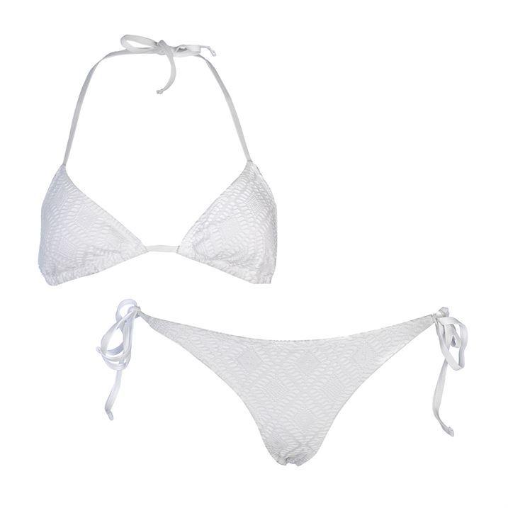 Rock and Rags Womens Crochet Bikini Set Ladies Swimwear Bottoms Top Clothing
