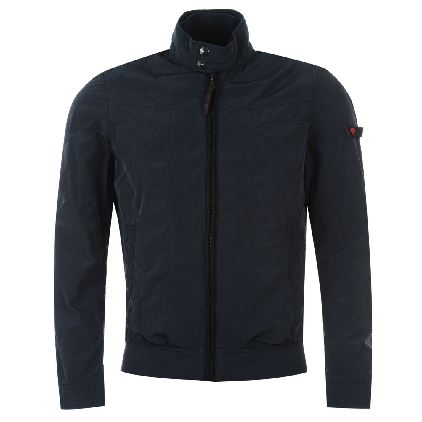 swiss cross by strellson mens jacket long sleeve full zip. Black Bedroom Furniture Sets. Home Design Ideas