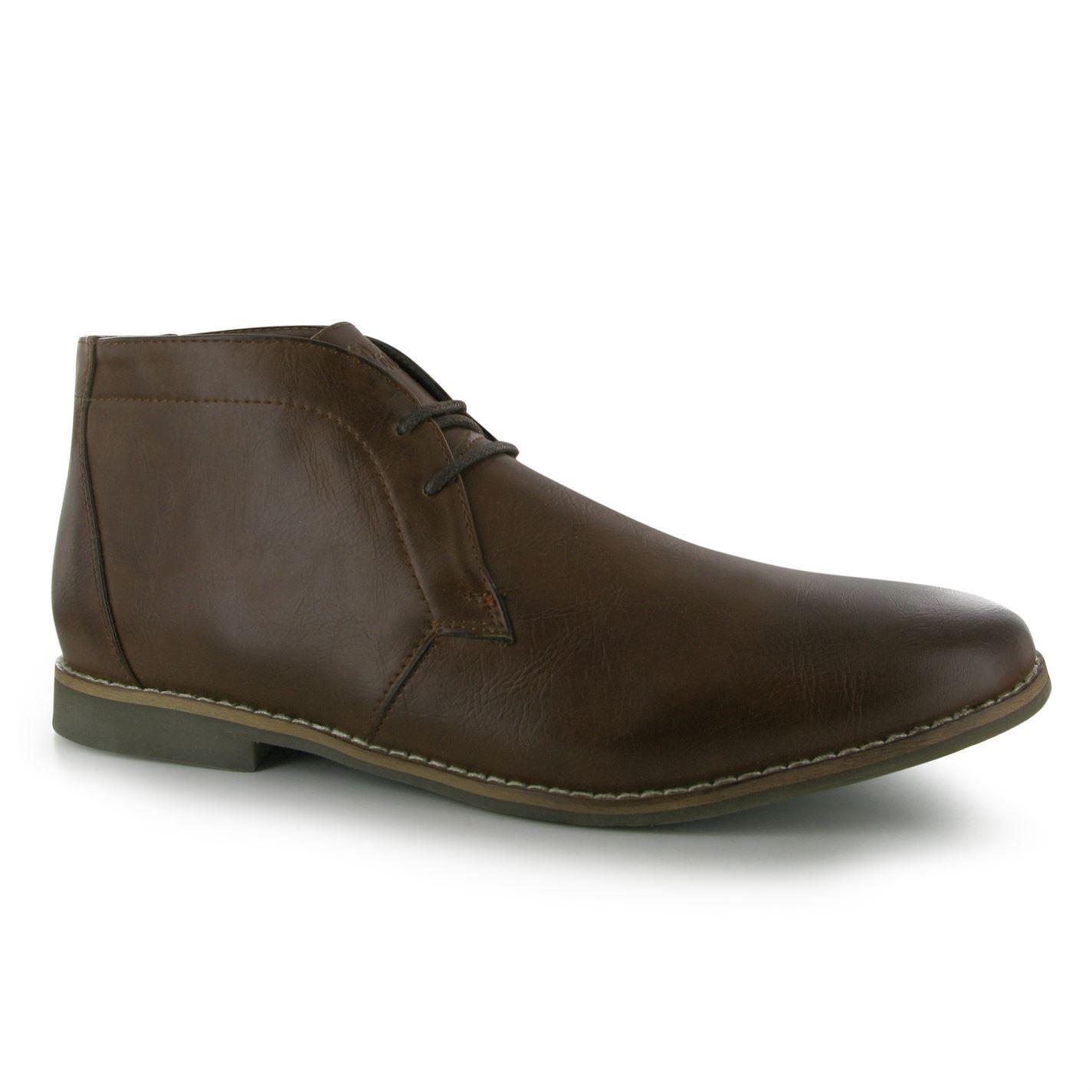 Lee Cooper Mens C Desert Smt Bt Shoes Laced Casual ...