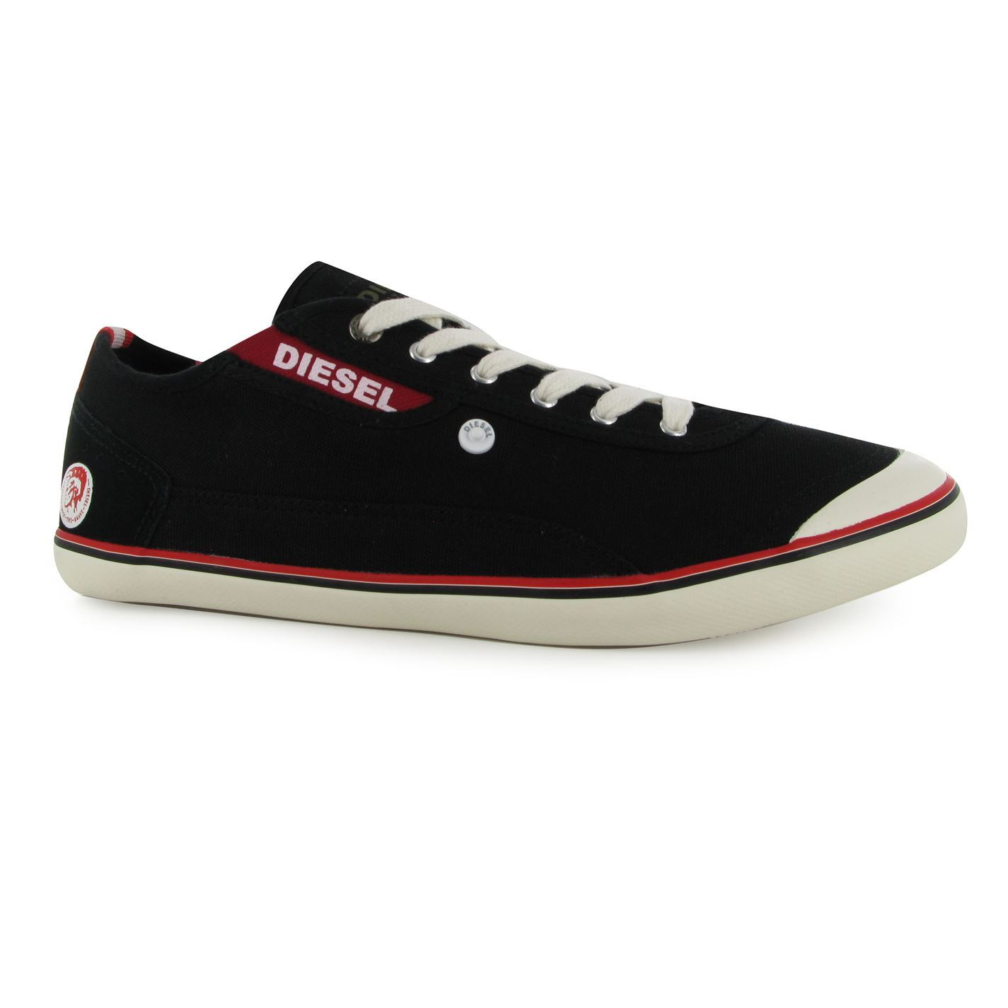 diesel mens kr312 canvas shoes synthetic sole cushioned