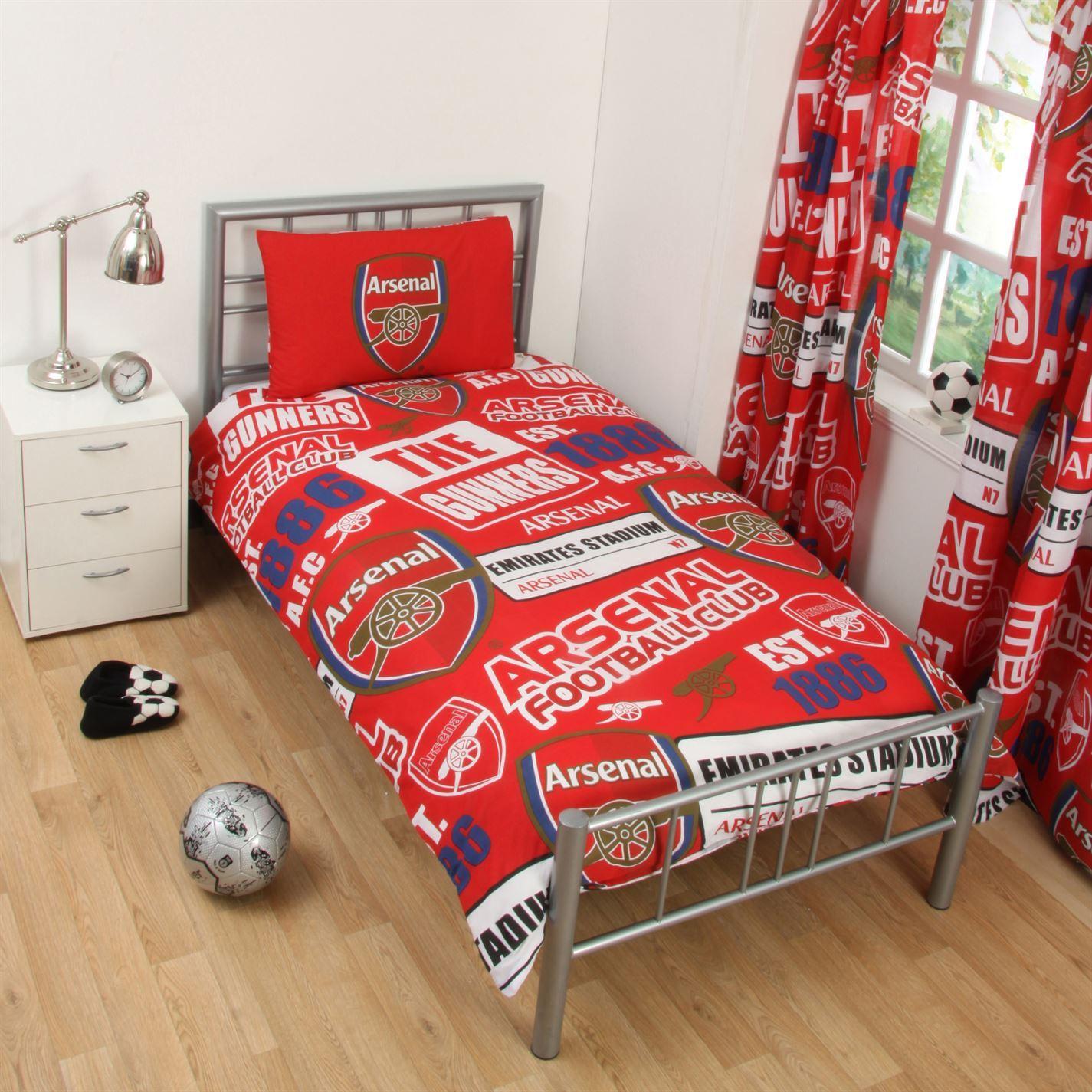 Team Football Single Duvet Set Bedding Set Cover Sheet