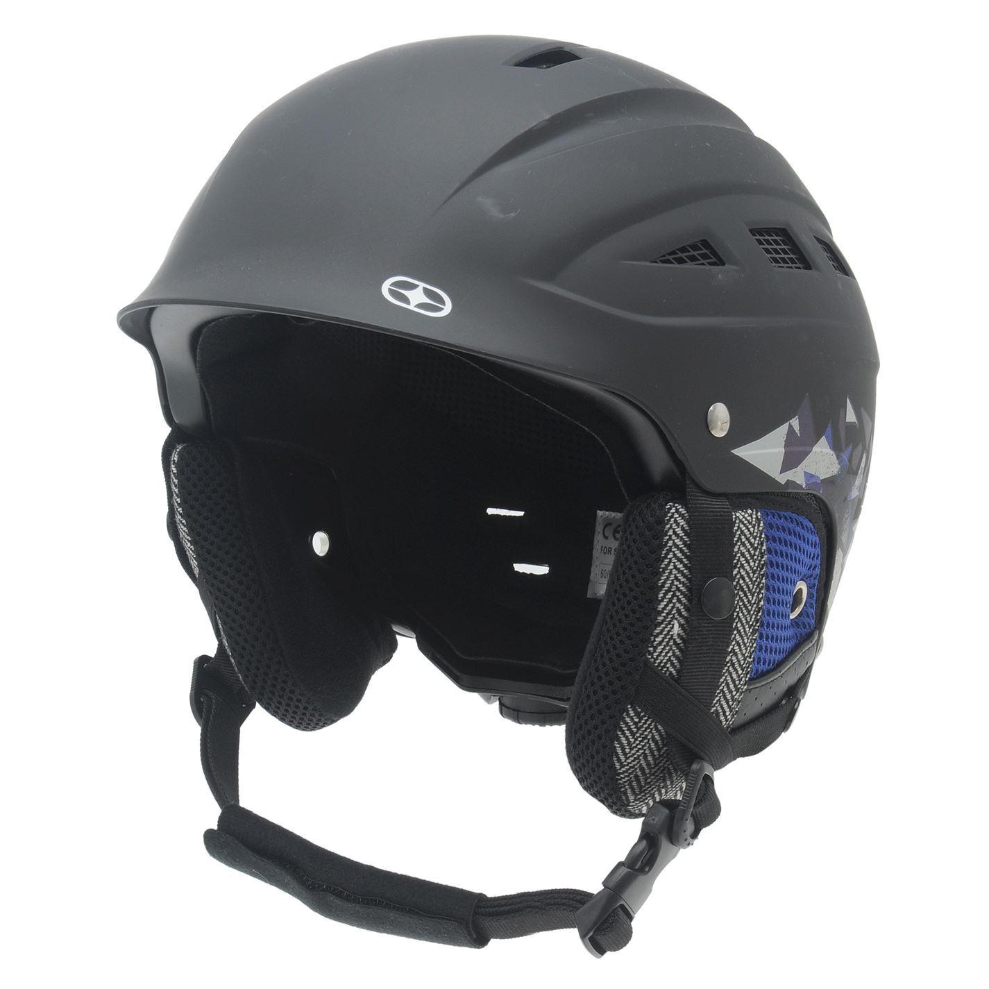 No Fear Park Ski Helmet Winter Sports Snowboard Head ...