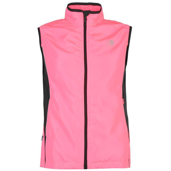 Karrimor ladies hi viz running gilet light zipped clothing for Hi viz running shirt