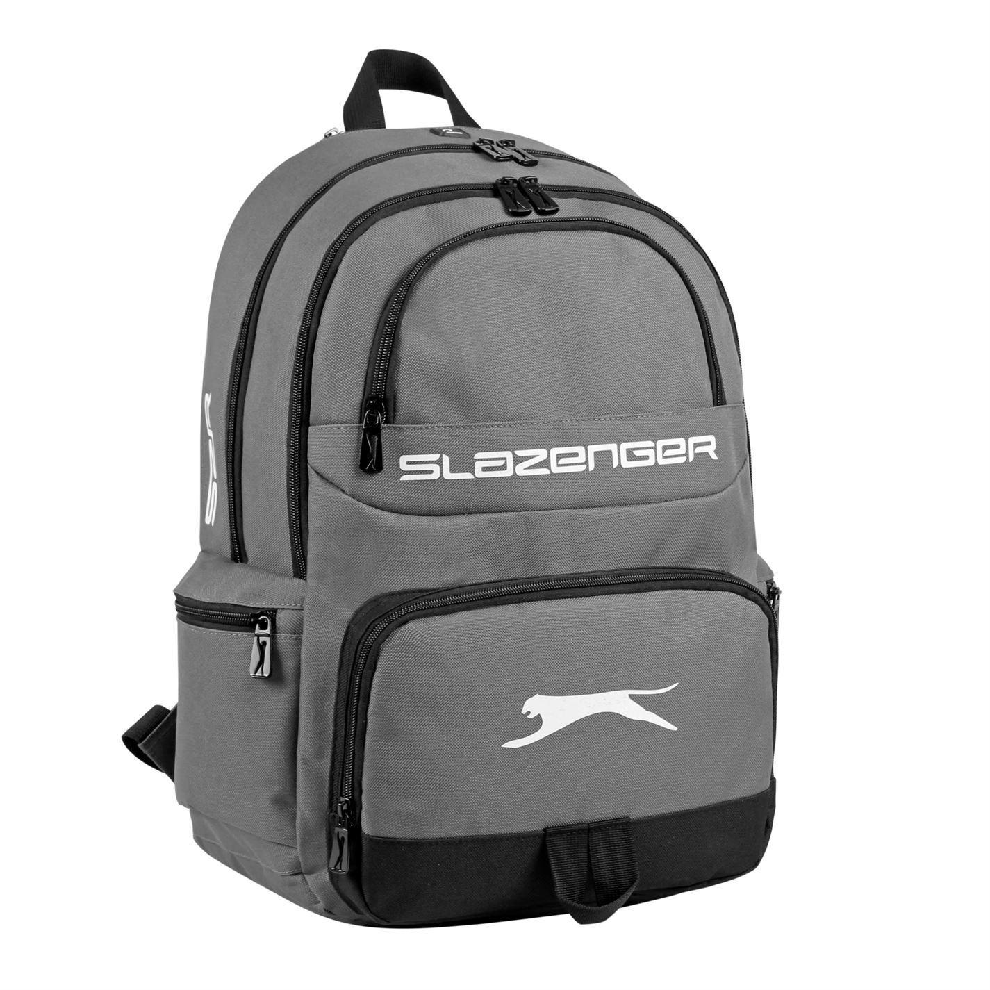 Slazenger Neil Backpack Rucksack Bag Travel Equipment Accessory