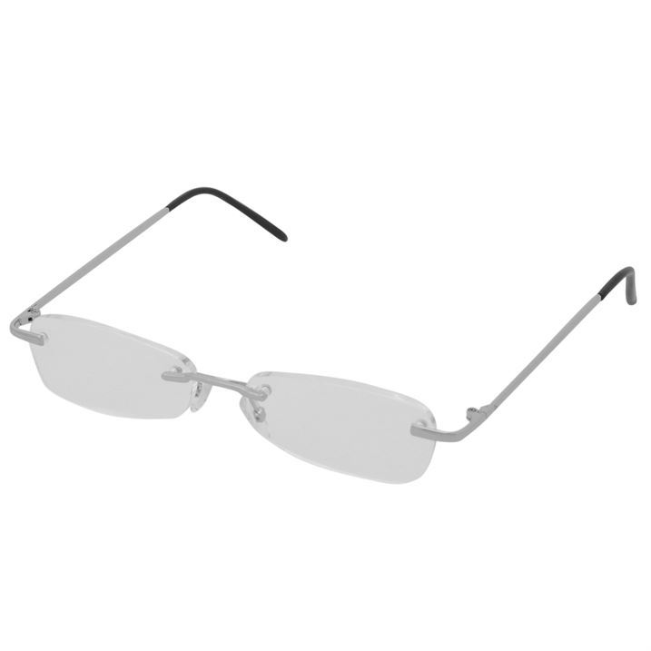 3ed1bb10be0d Dunlop Unisex Rimless Reading Glasses Fashion Eyewear Accessories New
