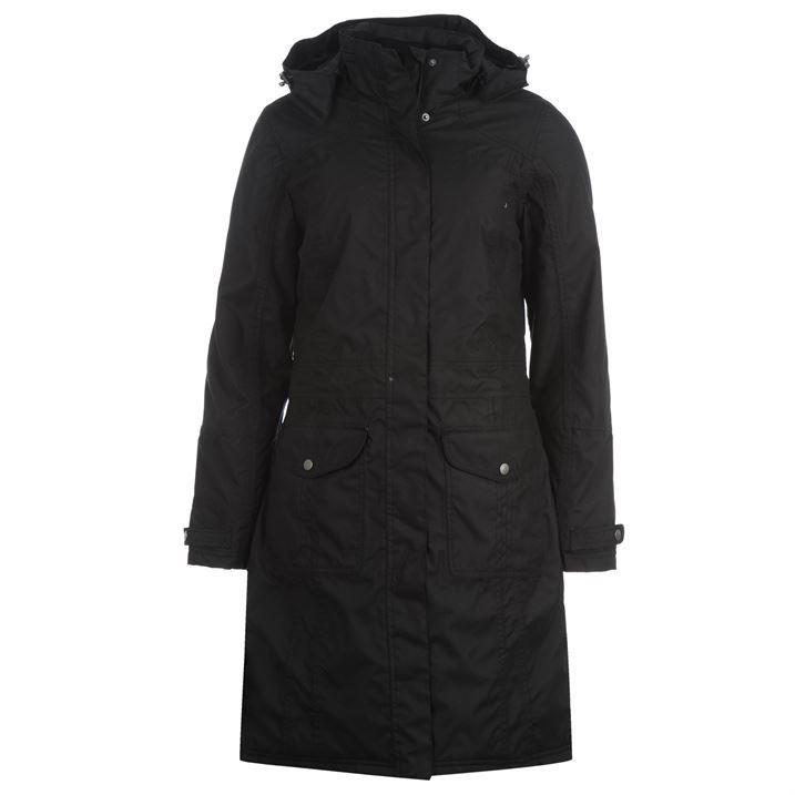 Craghoppers Womens Ladies Nariko Hooded Winter Wear Long Jacket Parka Coat