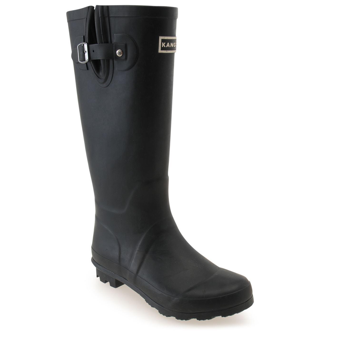 kangol womens wellies wellington boots rubber