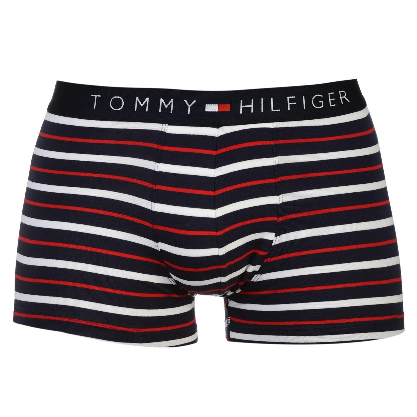 Tommy Hilfiger Mens Stripe Trunk Briefs Boxer Underwear ...
