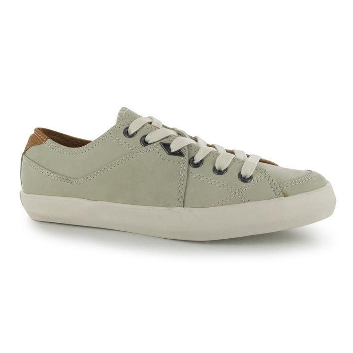 umbro mens milton leather trainers lace up sport shoes