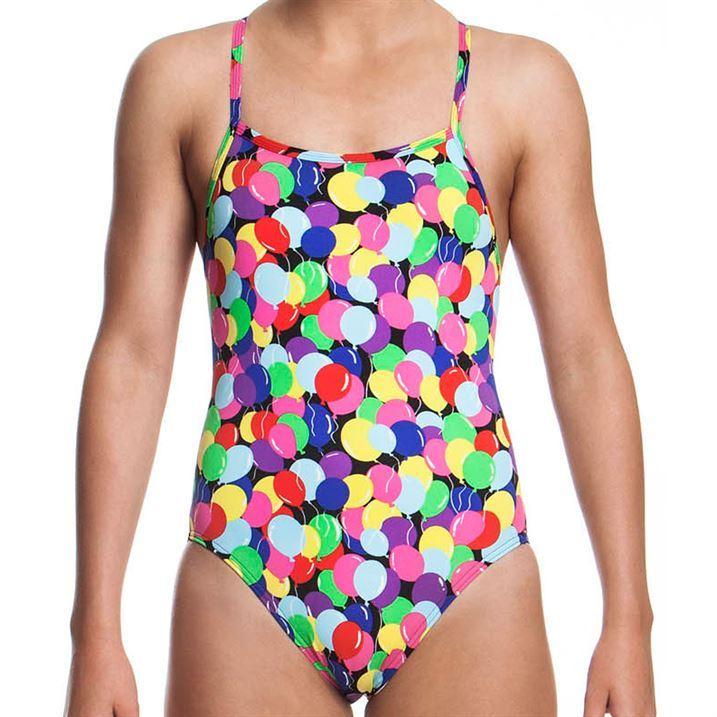 Funkita Kids Birthday Suit Girls Swimsuit Bathing Suit Swimming Costume Swimwear