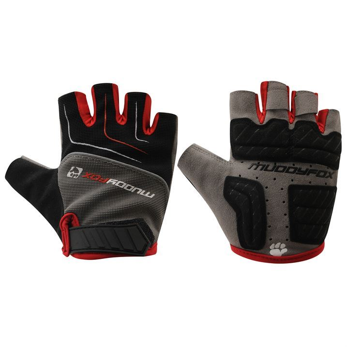 Muddyfox Mens Gents Mountain Bike Bicycle Cycling Mitts Gloves Fingerless