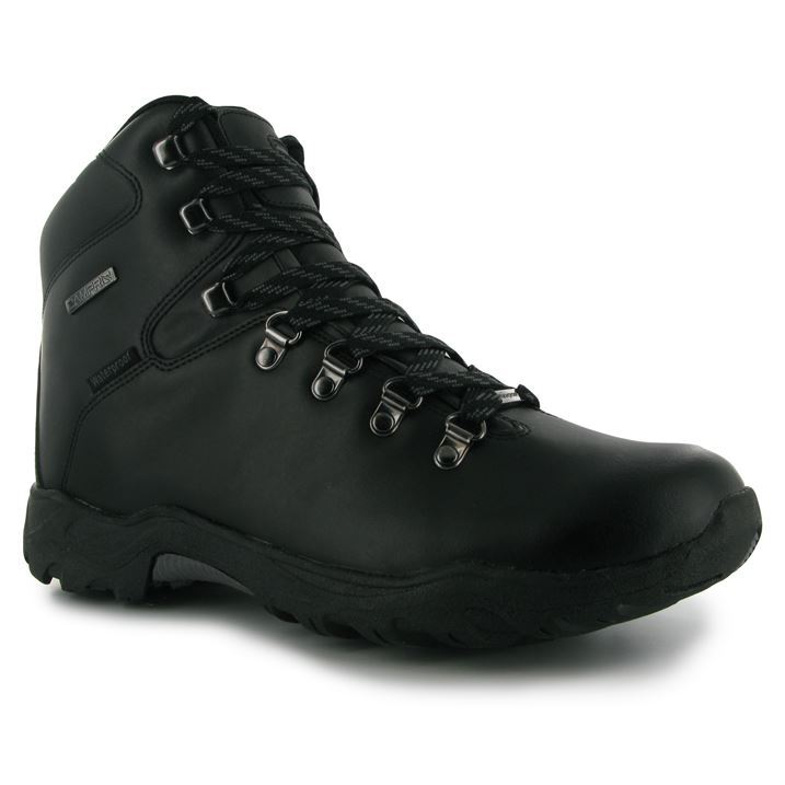 Campri-Mens-Gents-Leather-Waterproof-Walking-Hiking-Outdoors-Shoes-Boots
