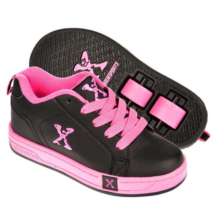 Sidewalk Kids Girls Sport Lane Roller Skate Shoes Lace Up Wheels ...