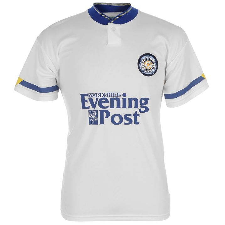 Score draw mens leeds 92 logo print design football sport for Printed t shirts leeds