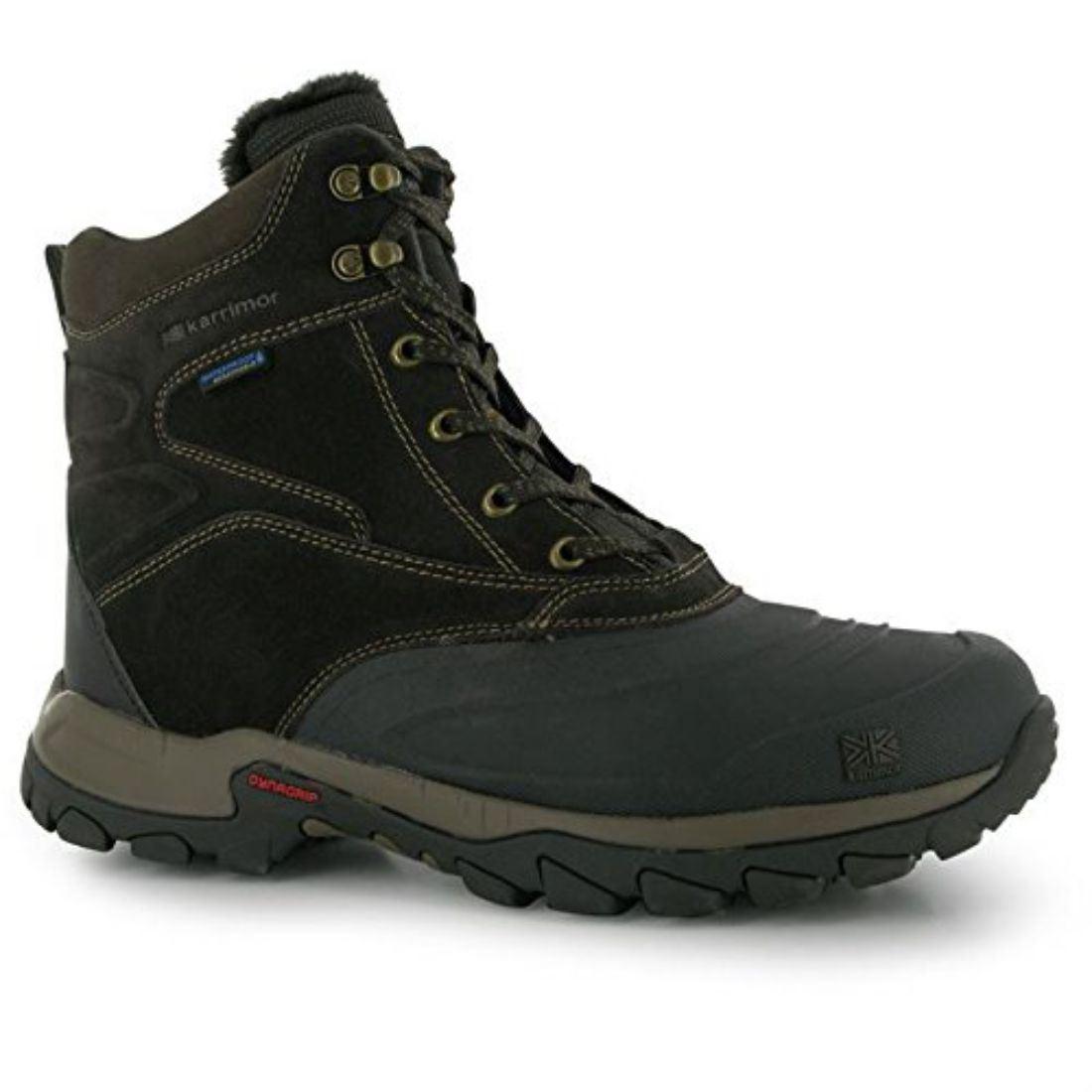 karrimor mens calgary snow boots winter shoes waterproof