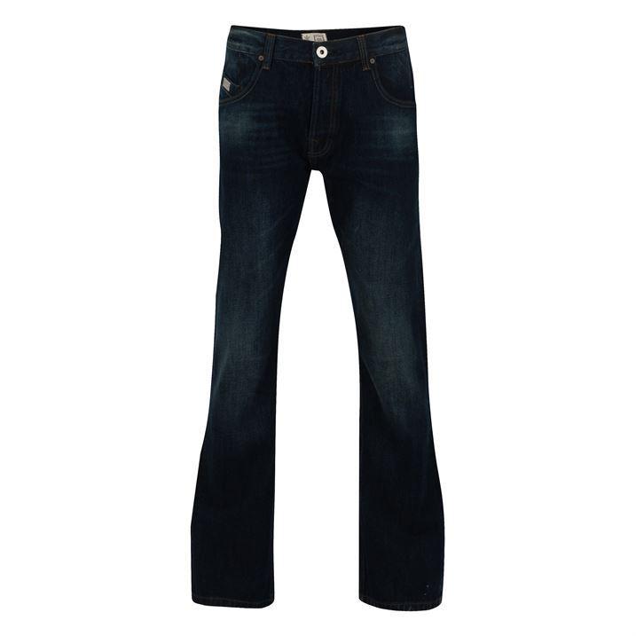 Firetrap Mens Tokyo Bootcut Jeans Everyday Elegant Trousers Pants Brand New