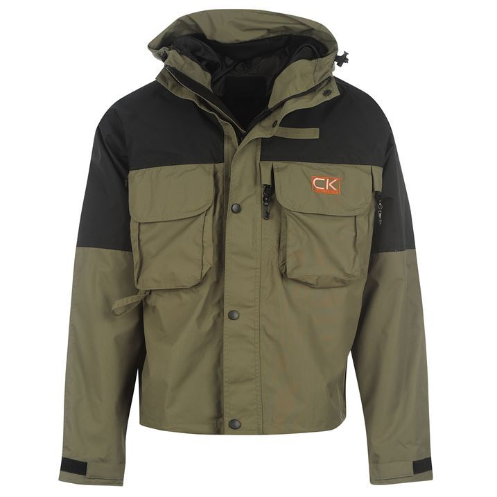 Carp Kinetics Fishing Anglers Clothing Hooded Pocketed Kin ...