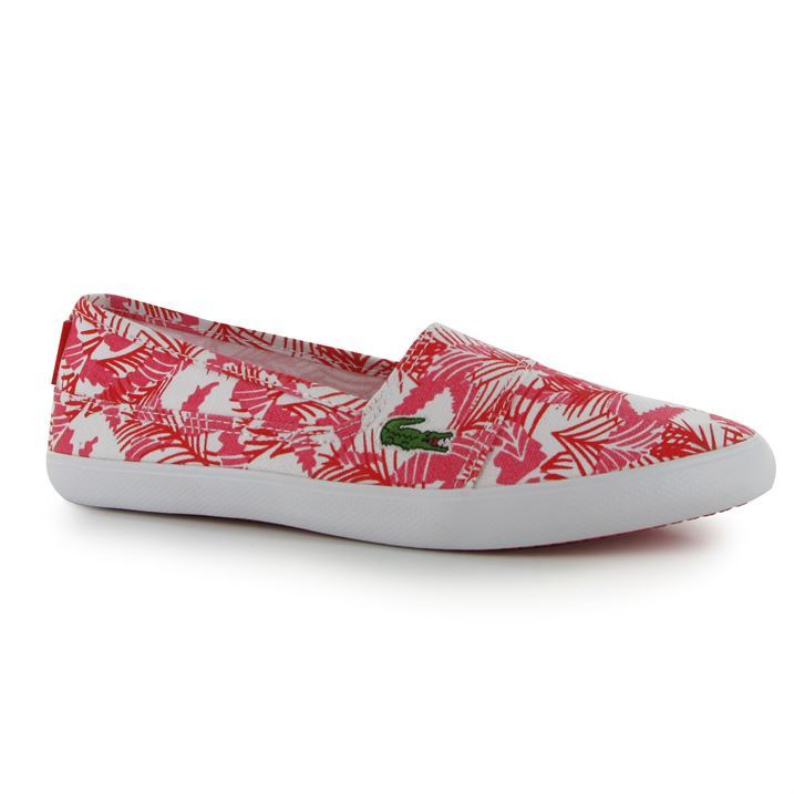 Lacoste Ladies Slip On Shoes