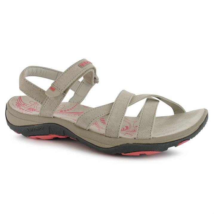 Karrimor Ladies Womens Salina Leather Outdoor Sandals Walking Hiking Shoes
