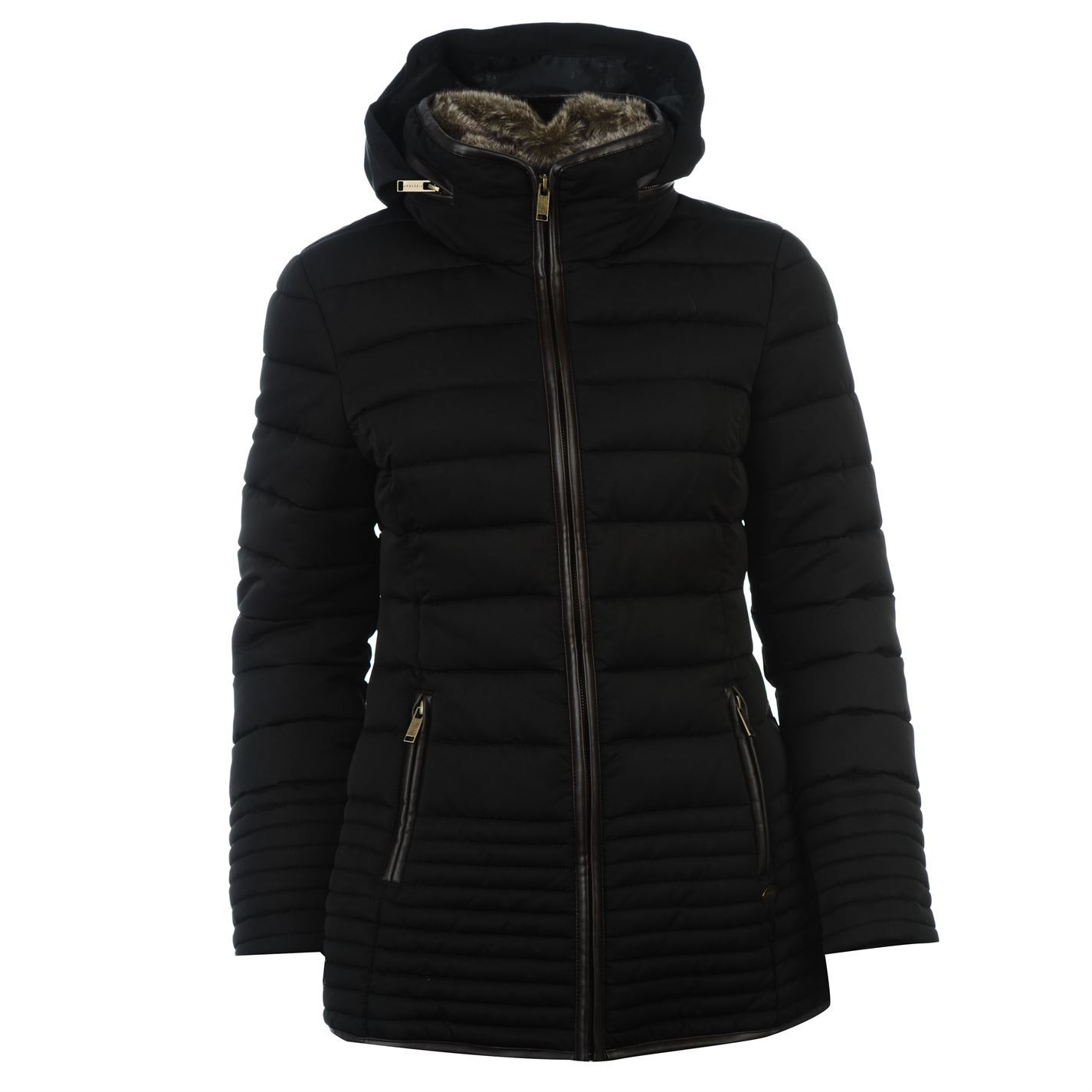 Canada Weather Gear Women's Long Outerwear Jacket with Faux Fur, Bubble Black Cow, 3X. Always delivering on-point style, the steve Madden outerwear collection will be sure to get you through any winter's chill more.