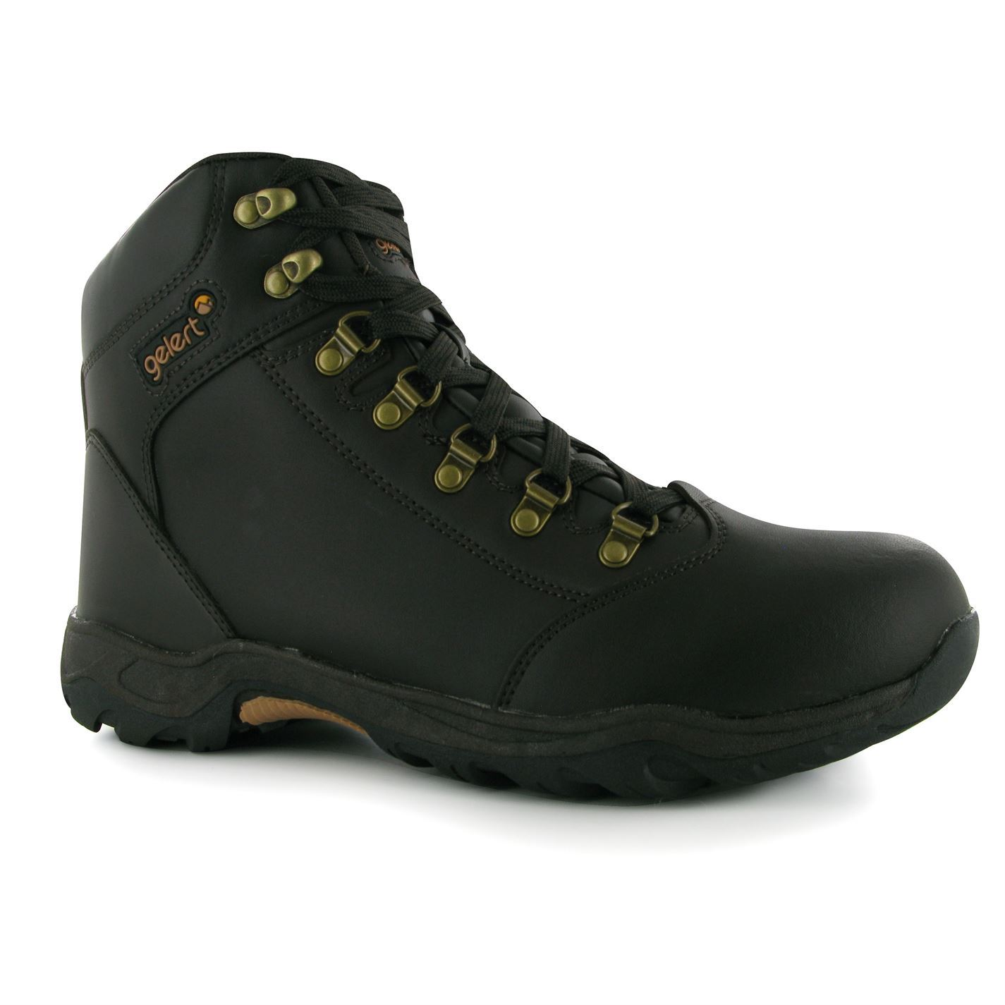 mens gelert leather walking boots new ebay