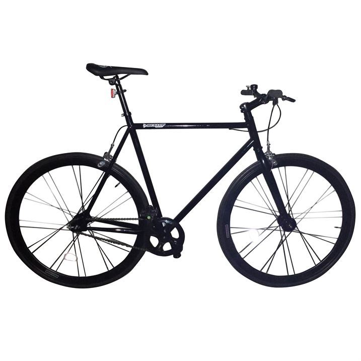dunlop fixie track city bike steel frame 700c