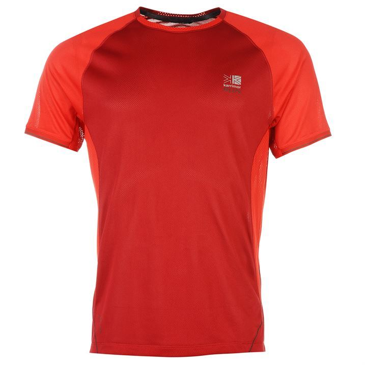 Karrimor mens xlite t shirt short sleeve running jogging for Best athletic dress shirts