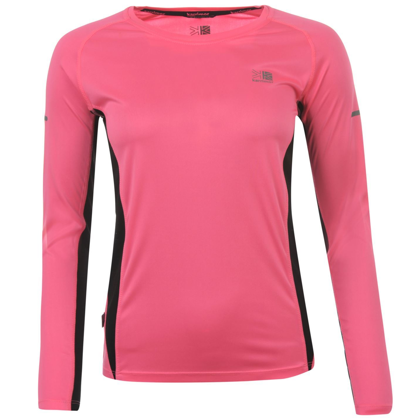 Karrimor womens ladies clothing long sleeve running for Women s running shirts