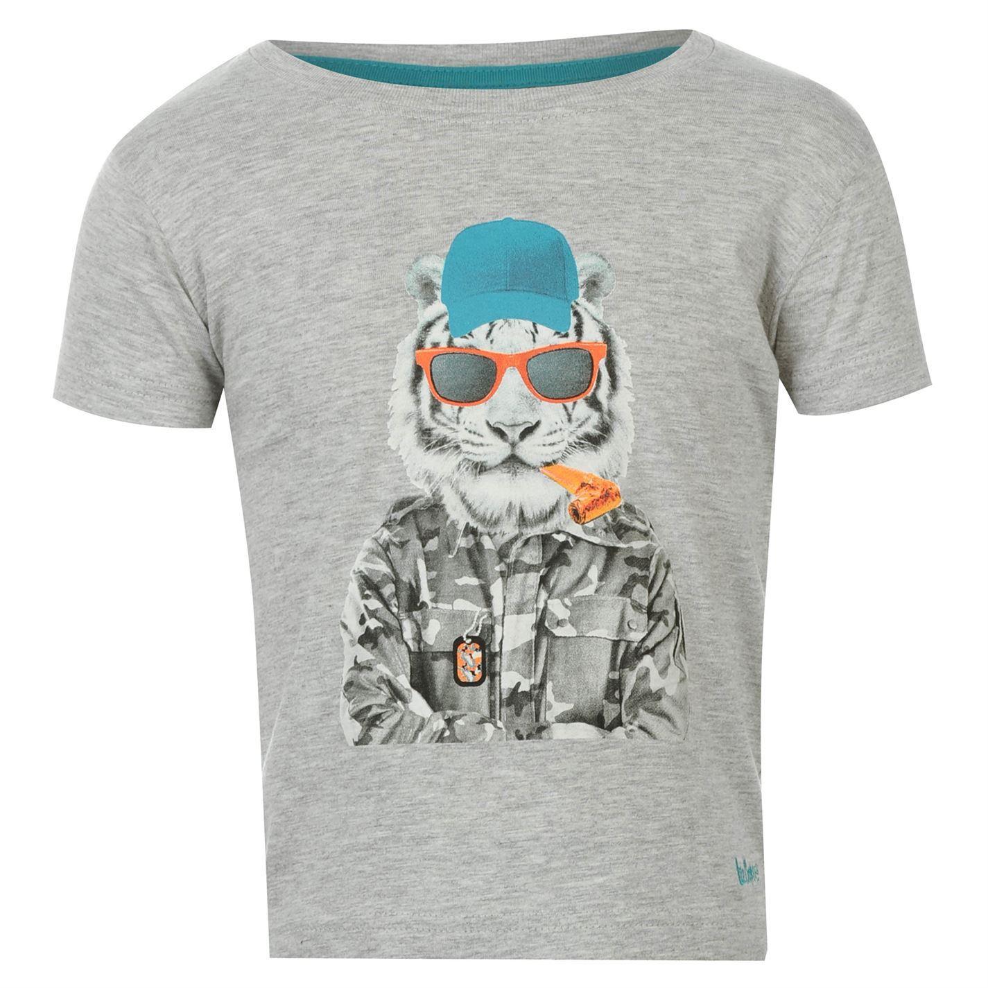 Lee cooper kids infant boys mock long sleeve t shirt crew for Mock crew neck shirts