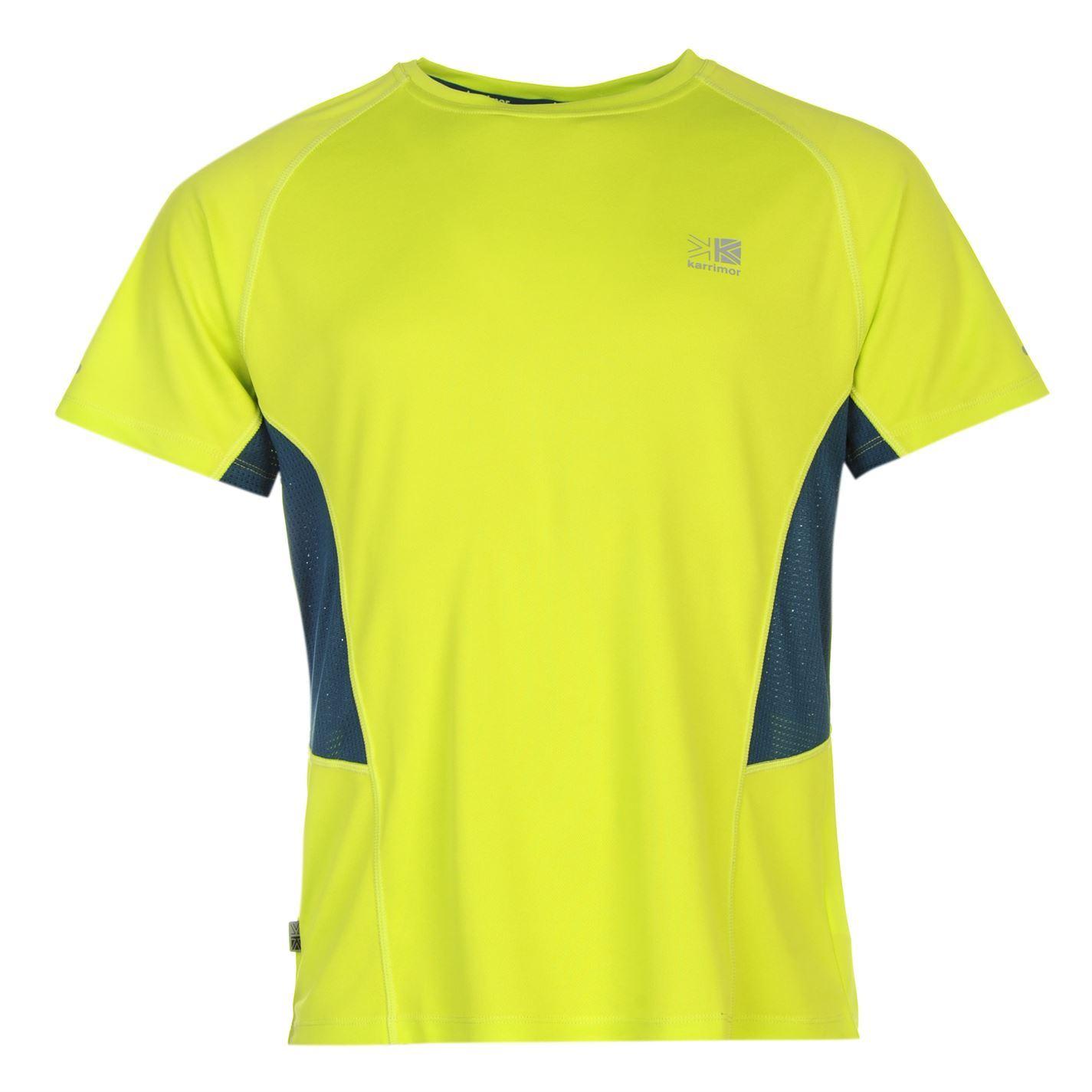 karrimor mens short sleeve run t shirt breathable running jogging sport top ebay. Black Bedroom Furniture Sets. Home Design Ideas