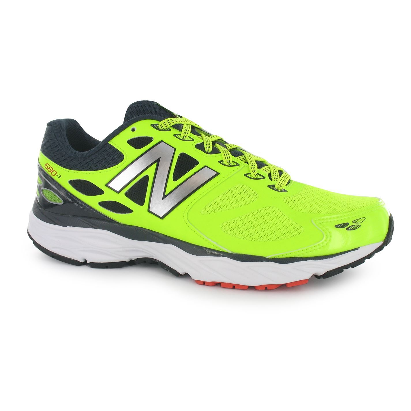 new balance mens m680v3 running shoes trainers lace up