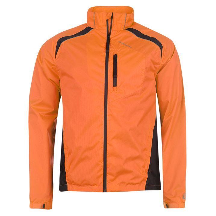Muddyfox Mens Sport Clothing MFX Cycling Jacket 3 Zip Up Pockets High Visibility