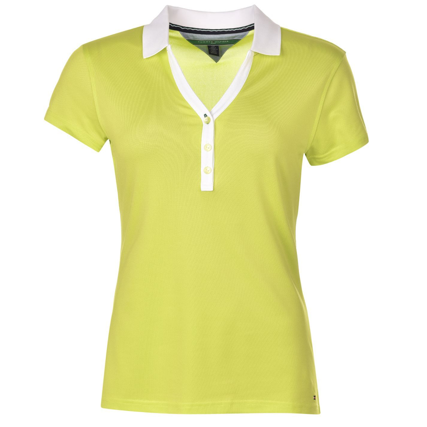 Tommy hilfiger womens ladies meryl golf polo t shirt tee for Golf polo shirts for women