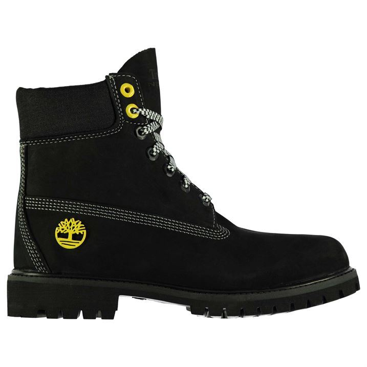 timberland mens 6in ltd boots lace up rugged slight heel