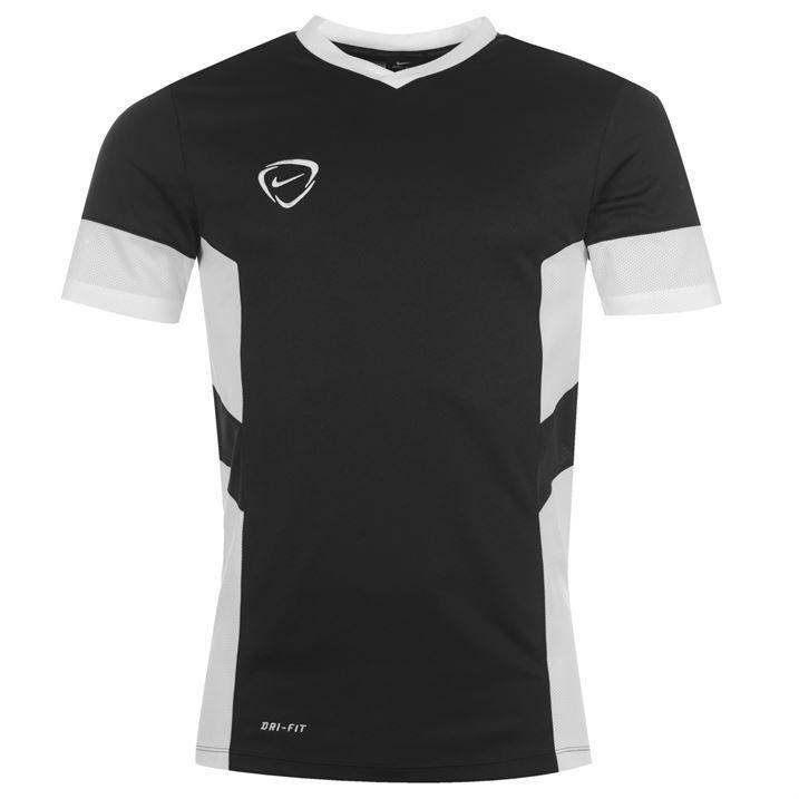 Nike Mens Academy Top Short Sleeve T Shirt Tee V Neck Dry