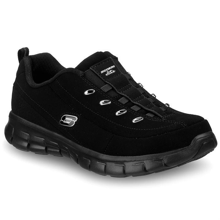 Skechers Black Shoes Womens