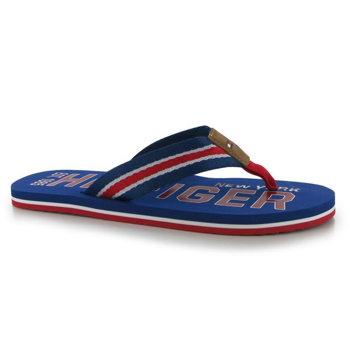 tommy hilfiger banks flip flops mens ebay. Black Bedroom Furniture Sets. Home Design Ideas