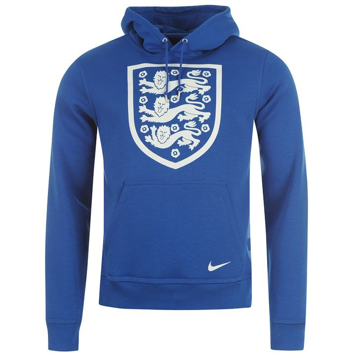 Nike Mens England Core Football Hoody Long Sleeves Hooded