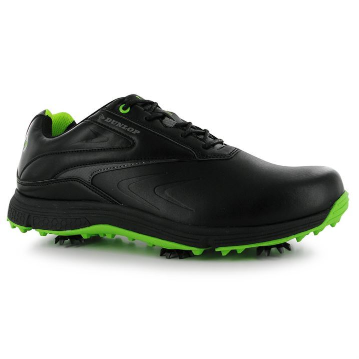dunlop mens biomimetic 300 golf shoes spiked lace up