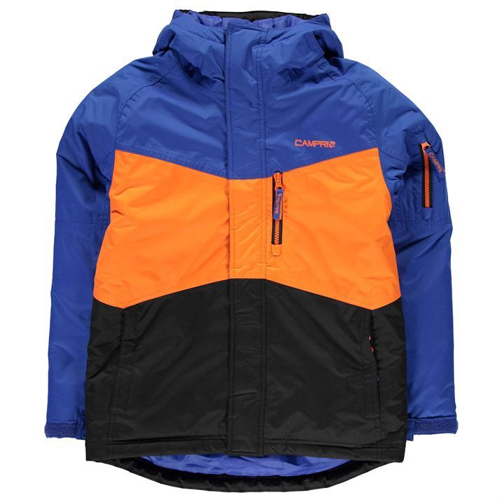 6 Best Ski Jackets for Kids Season. Here are the best kids ski jackets. 1. Columbia Girls' Snowcation Nation Jacket. A snazzy name, an even snazzier jacket, the Snowcation Nation is offered in 8 style choices. We are fond of the OUTGROWN grow system which helps the jacket last more than a year before they inevitably outgrow it. 2.