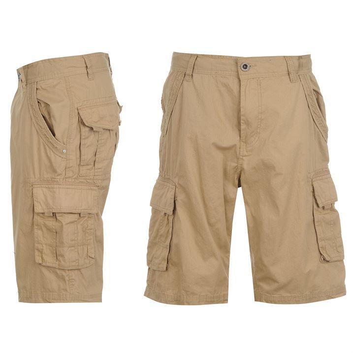 Caterpillar Mens Cotton Cargo Shorts Pants Bottoms Waist With Belt ...