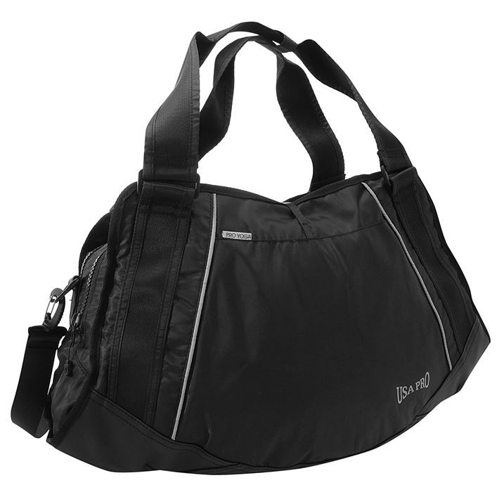 Women's sports bags Carry your gym essentials in style with our selection of women's gym bags. From super sleek backpacks to fuss-free holdalls, you're sure to find one to suit your needs.