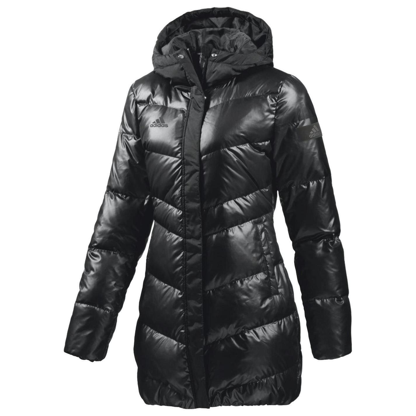 adidas womens ladies frost down jacket warm winter. Black Bedroom Furniture Sets. Home Design Ideas