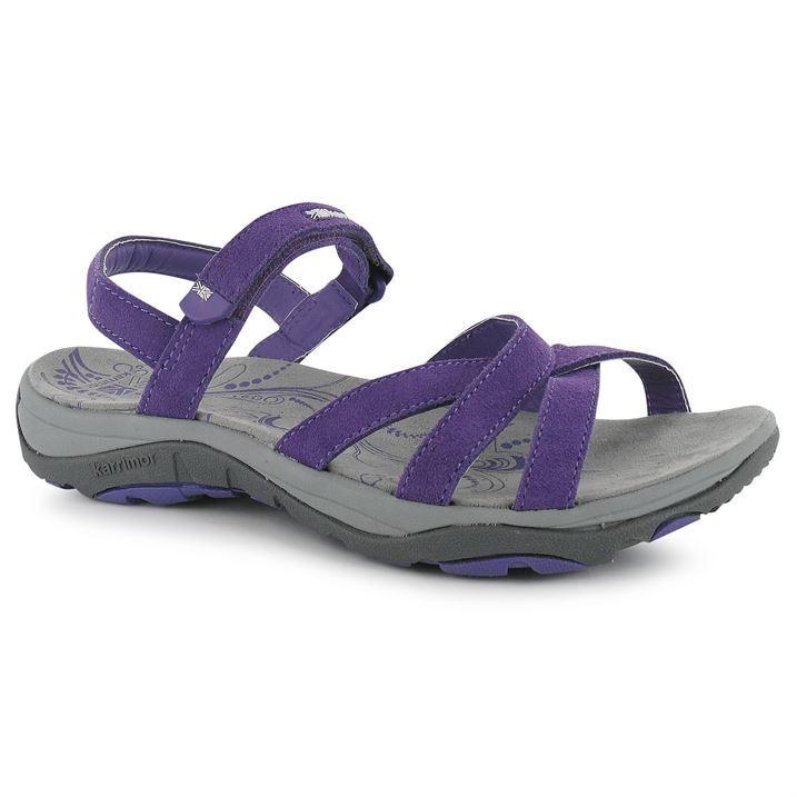 Karrimor Ladies Womens Salina Leather Outdoor Sandals Walking Hiking Shoes