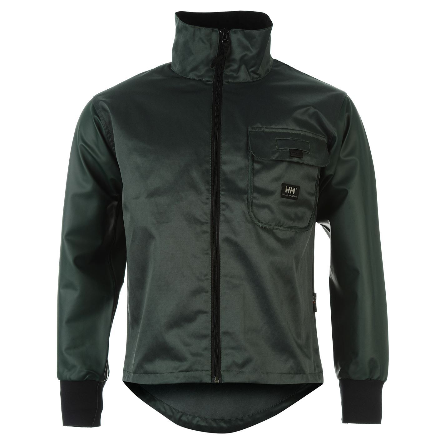 helly hansen mens seaford jacket full zip durable workwear outerwear ebay. Black Bedroom Furniture Sets. Home Design Ideas