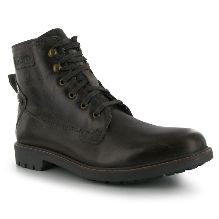 firetrap mens traffic boots ankle high lace up shoes mid