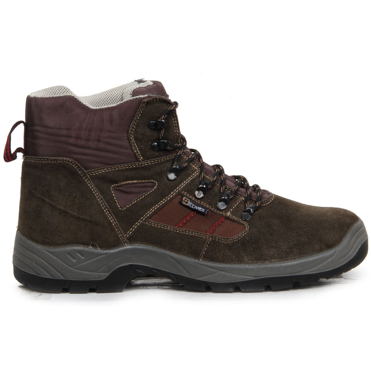 Mens Safety Shoes, Leather Work Boots, Steel Toe Cap Grounwork ...
