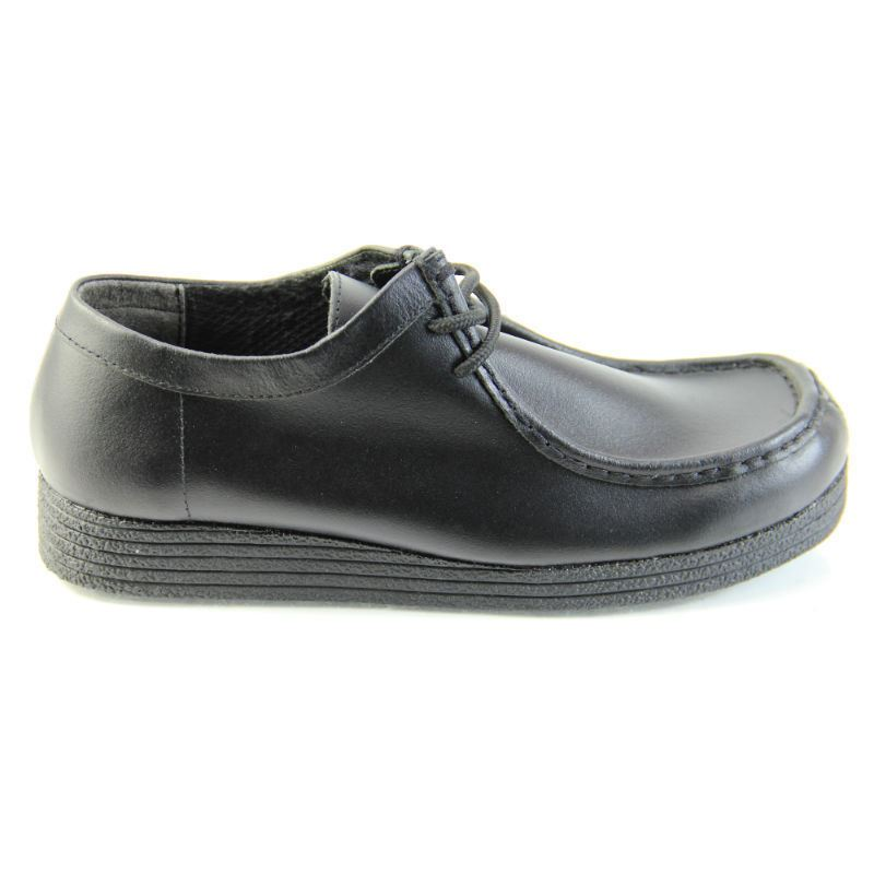 boys wallabees school shoes lace up low